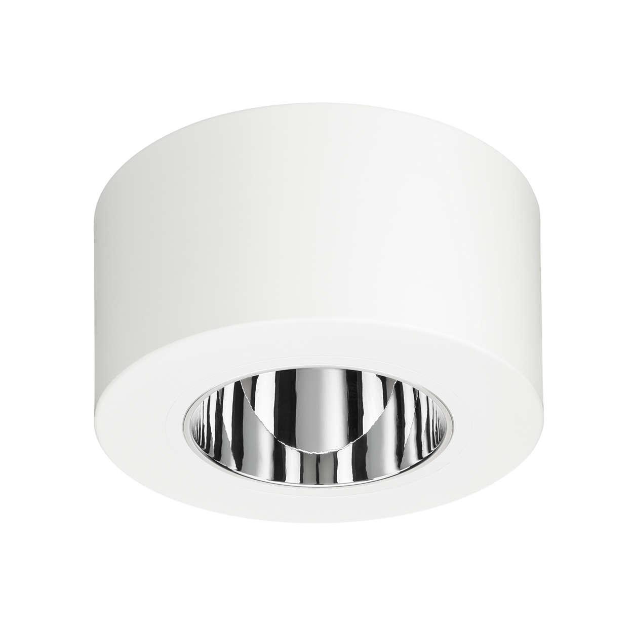 LuxSpace, versión adosada: alta eficiencia, comodidad visual y elegante diseño