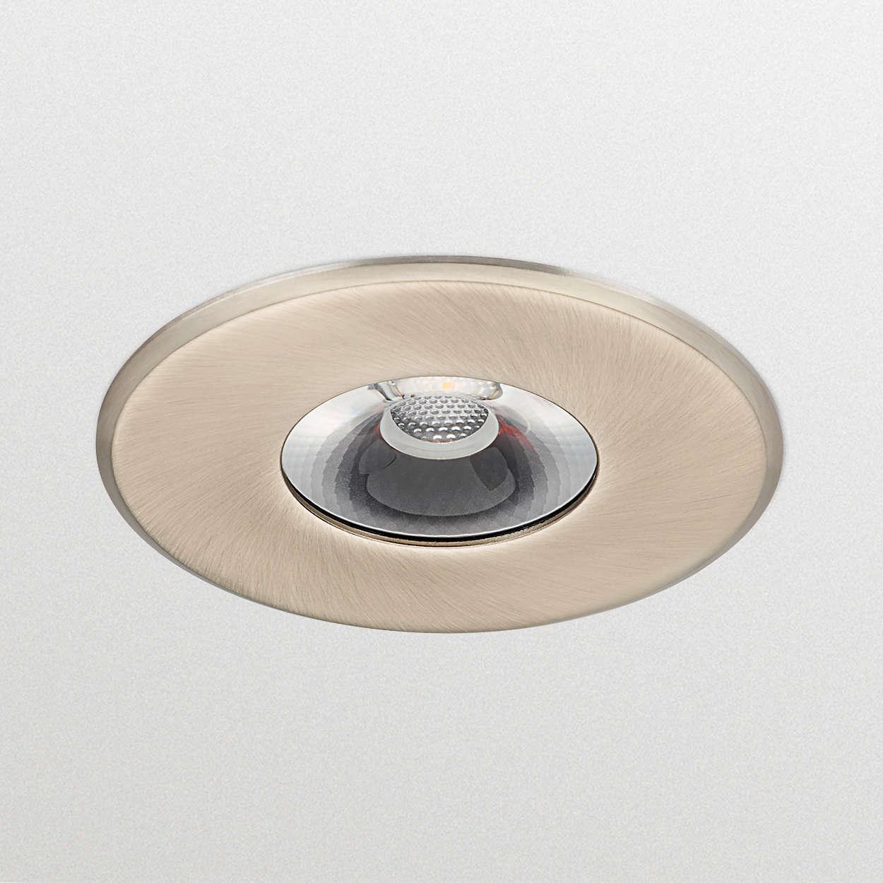 CoreLine Recessed Spot; LED için net seçenek