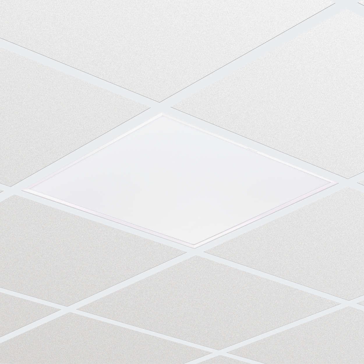 CoreLine Panel: tecnología LED que proporciona una luz uniforme de excelente calidad