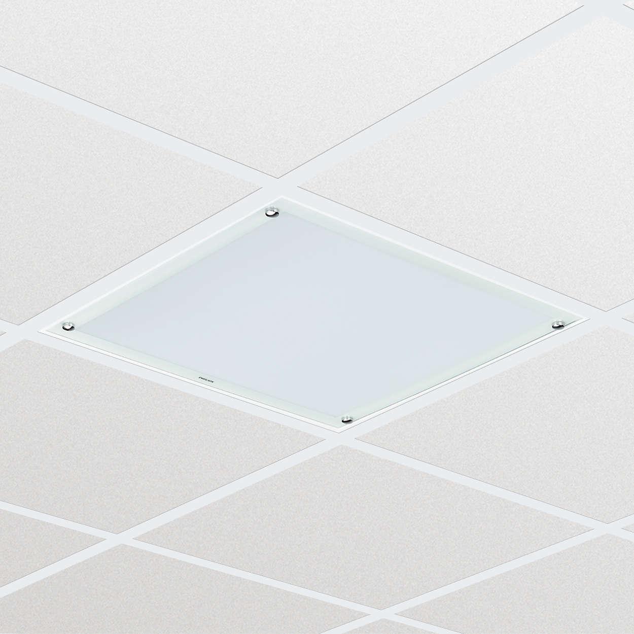 Cleanroom LED CR250B — равномерное, надежное освещение в бюджетном варианте