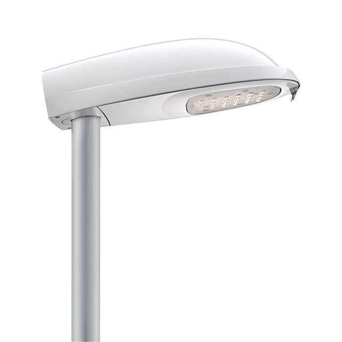 Iridium LED Mini – éclairage de la route en avant
