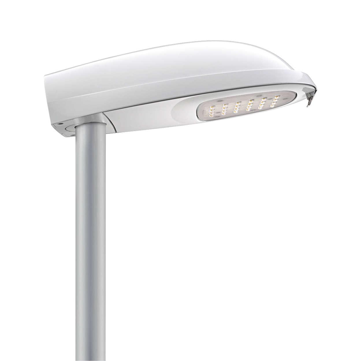 Iridium LED Mini – die Straßenbeleuchtung der Zukunft