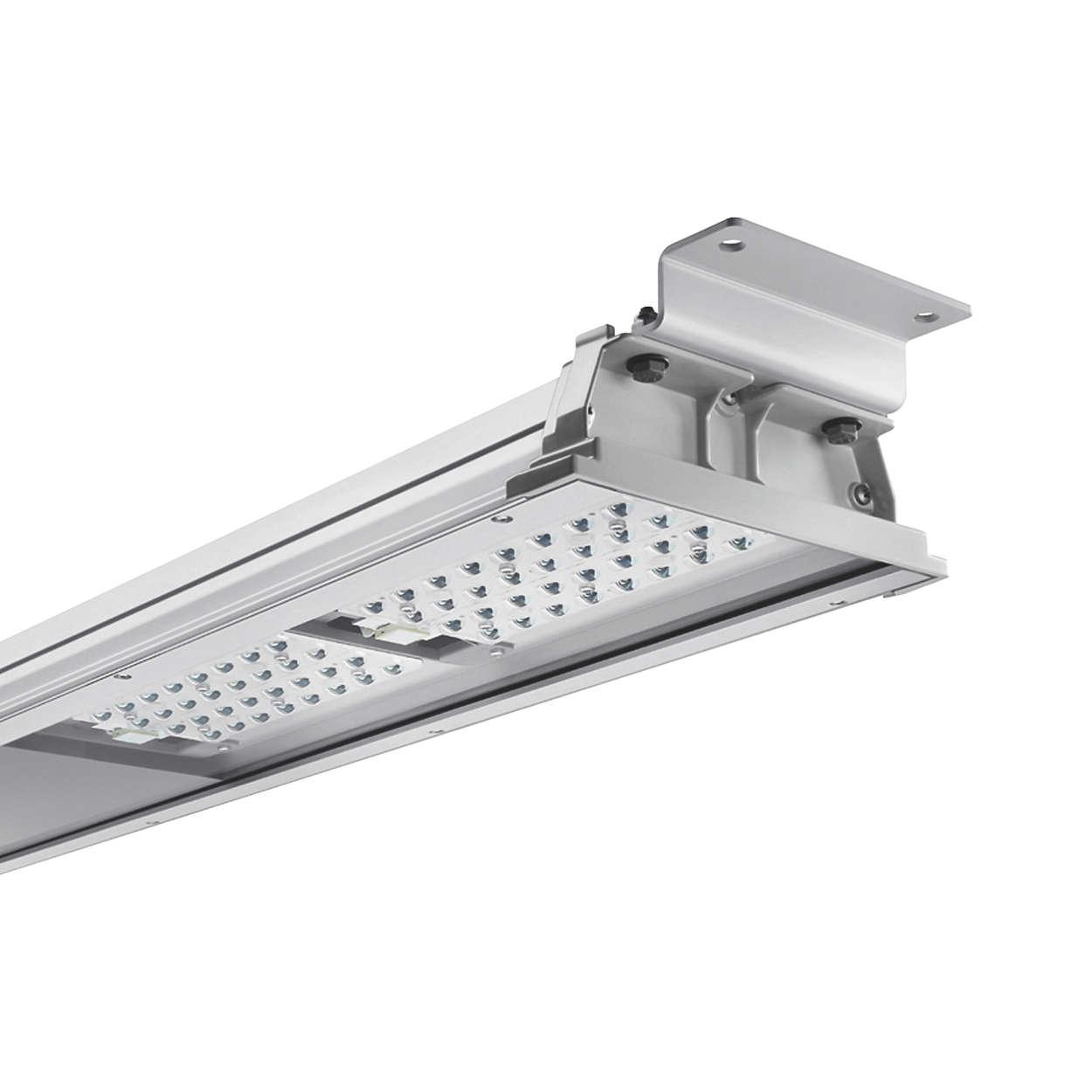 TunLite LED – économie d'énergie, robustesse, maintenance inutile pour l'éclairage de tunnel
