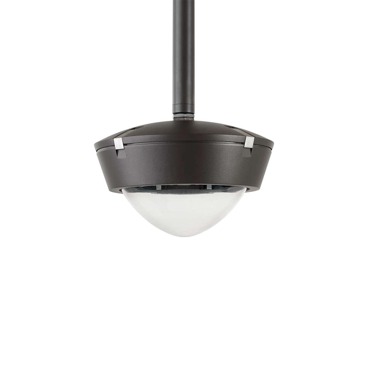 Thema 2 LED: corp de iluminat rotund eficient şi elegant