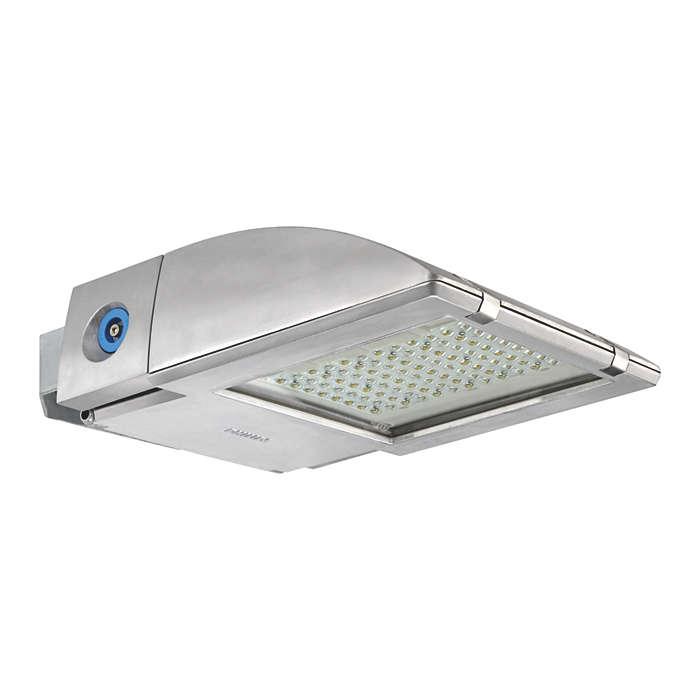 OptiFlood LED – die energiesparende Flächenbeleuchtungen