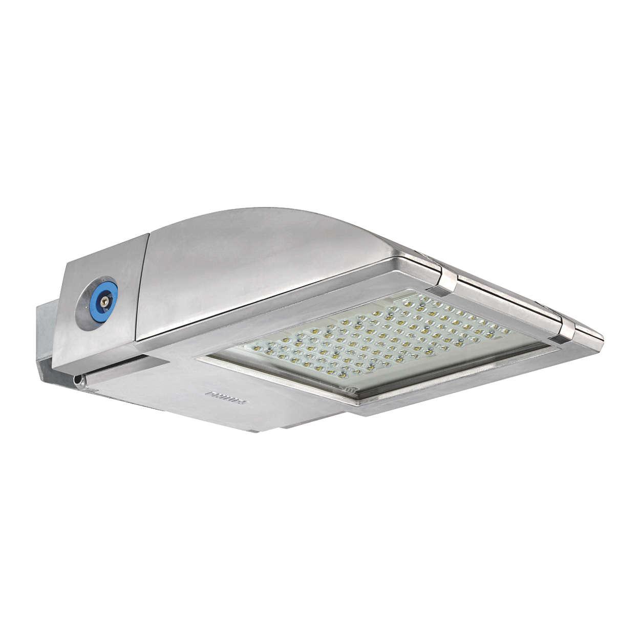 OptiFlood LED – la solution sur mesure pour l'éclairage de grands espaces