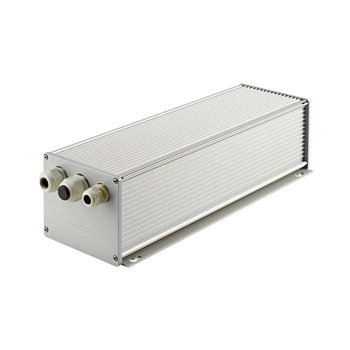 Elektrische Einheit – für Scheinwerfer mit hoher Systemleistung