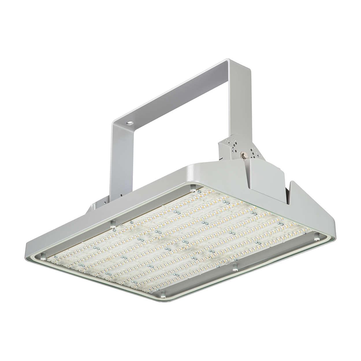 GentleSpace gen2: un nuevo estándar en la iluminación de gran altura.