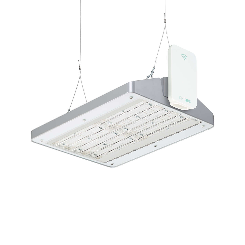 Система освещения складских помещений GreenWarehouse — это беспроводная осветительная система, позволяющая экономить электроэнергию