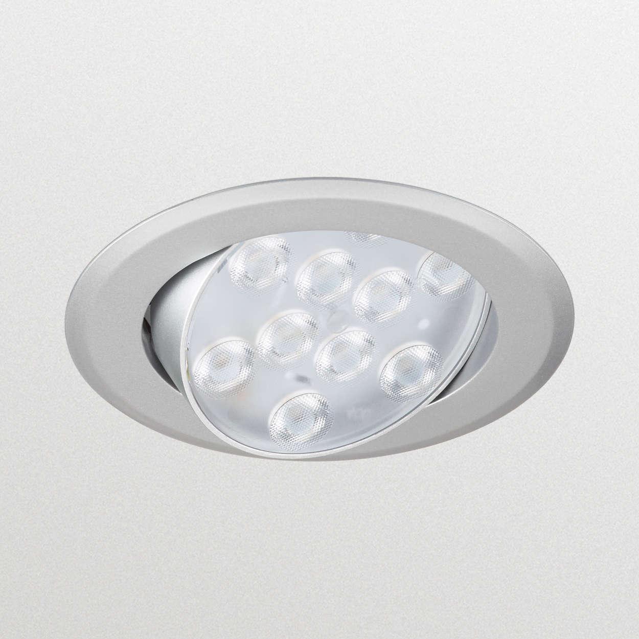 RS010 Einbaustrahler - der preisattraktive Einstieg in die LED-Welt
