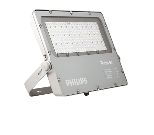 Bvp282 led205 ww 200w 220 240v smb tango g2 led philips for Luminaire exterieur led philips