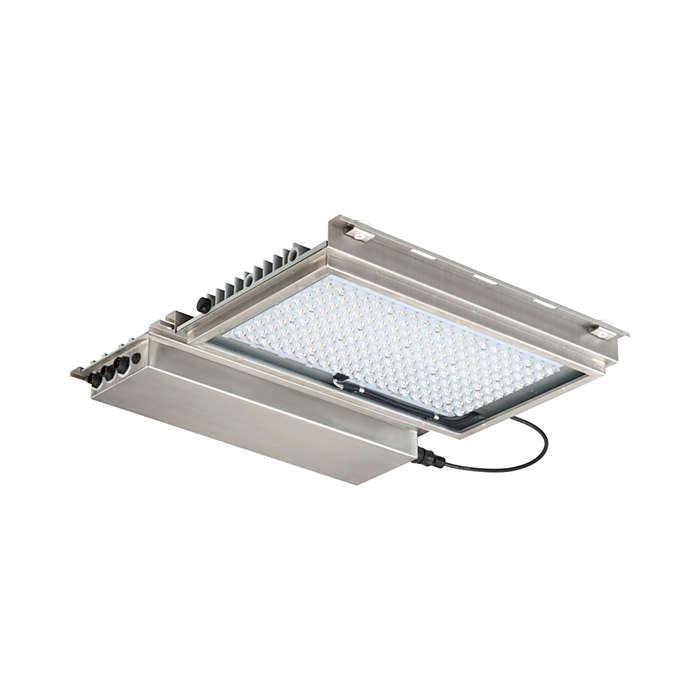 FlowStar – LED-Beleuchtung für den Eingangsbereich und die punktuelle Innenbeleuchtung des Tunnels