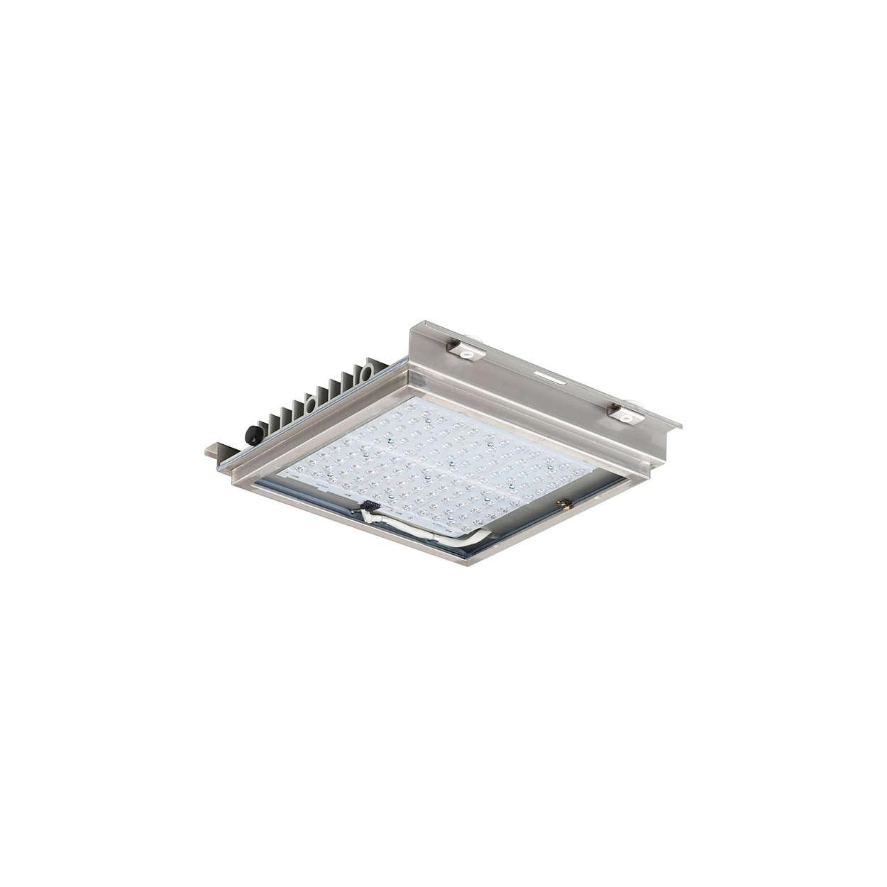 FlowStar – LED-belysning för tunnelöppning och som punktbelysning i tunnel