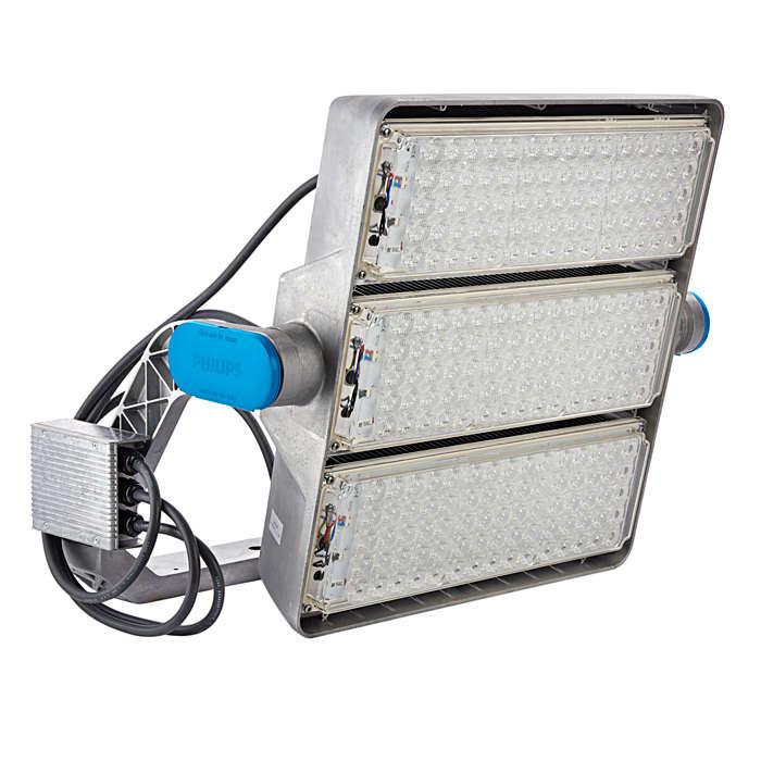ArenaVision LED gen2 — nowa jakość oświetlenia aren sportowych