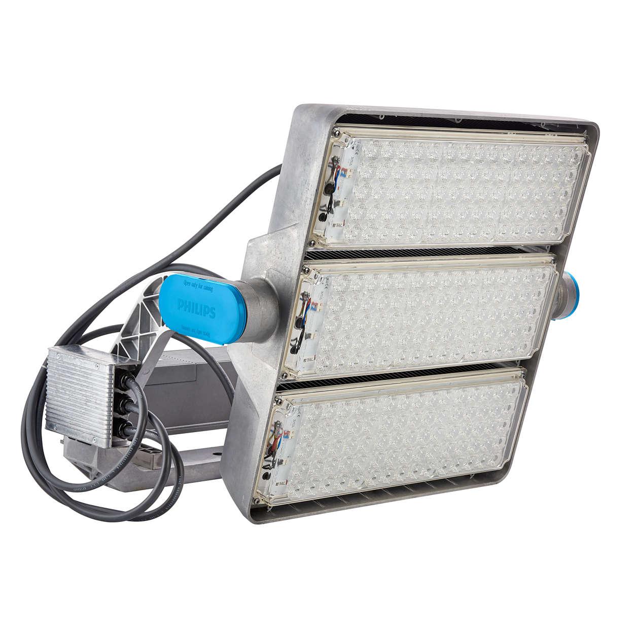 ArenaVision LED gen2 – une expérience inédite au sein des enceintes sportives