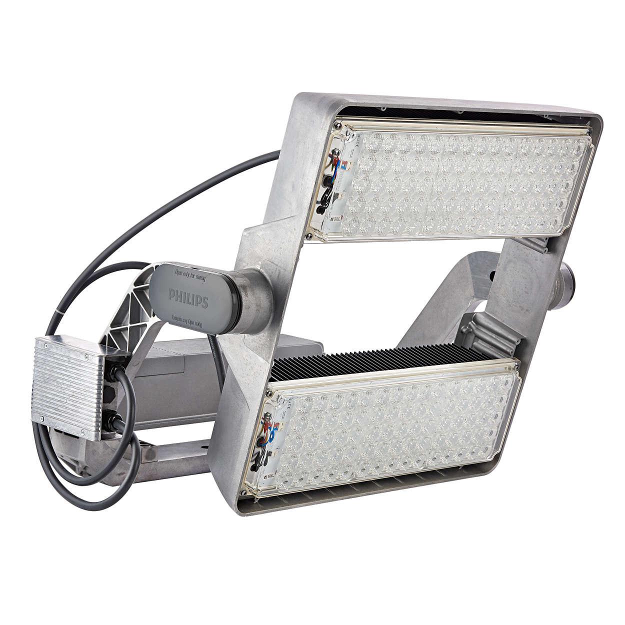 OptiVision LED gen2 — nowa era w dziedzinie inteligentnego oświetlenia terenu i obiektów sportowych