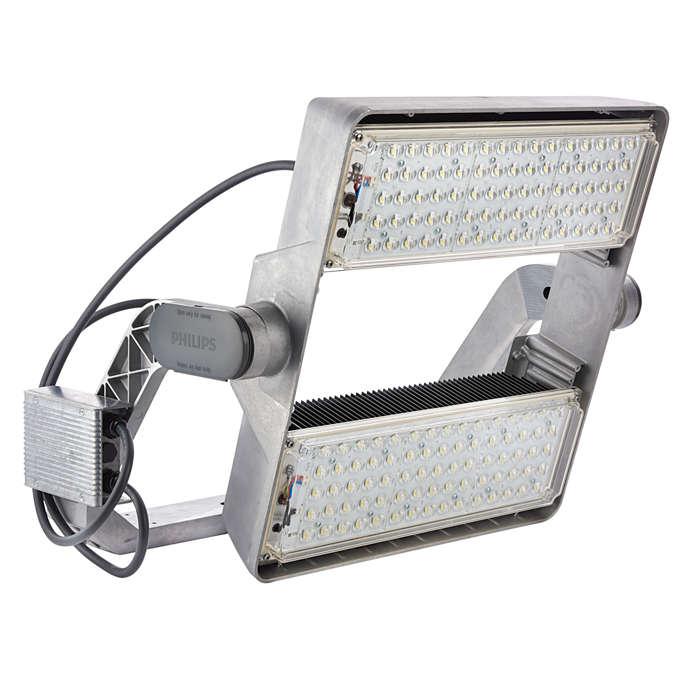 OptiVision LED gen2 – en ny generation smart belysning för sport- och friluftsanläggningar