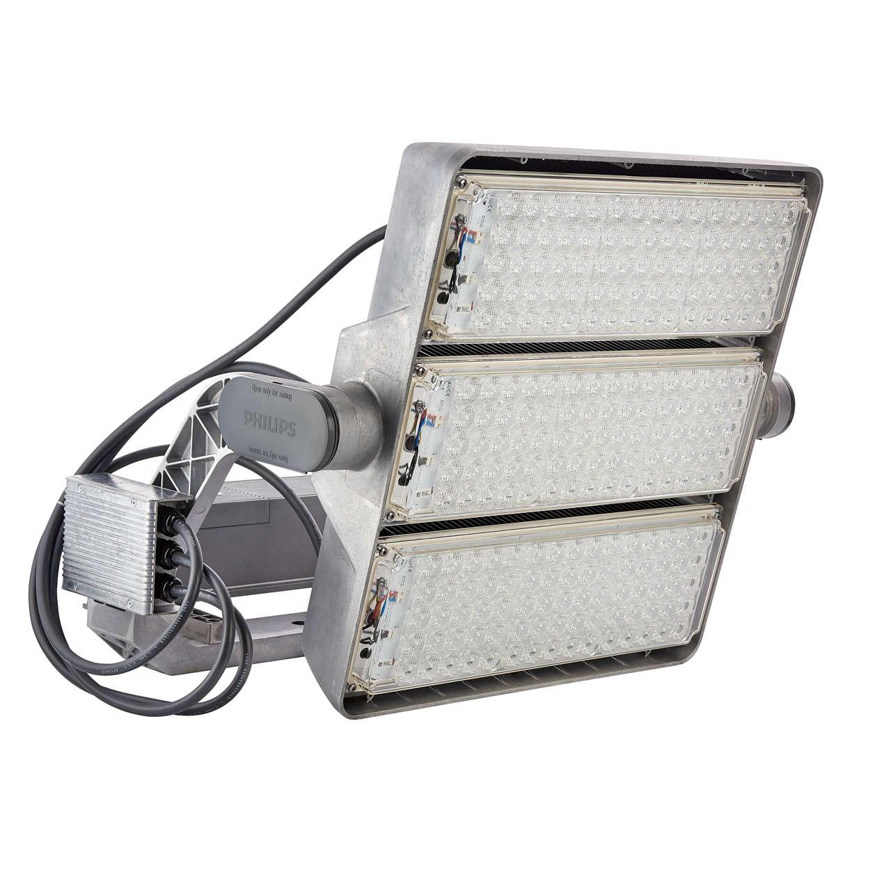 OptiVision LED gen2 – für die intelligente Flächen- und Freizeitsportanlagenbeleuchtung hat ein neues Zeitalter begonnen