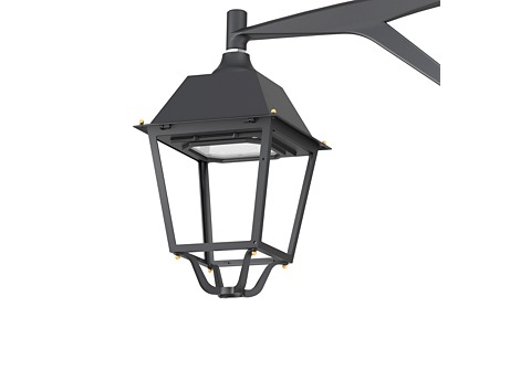 BSP765 LED40-4S/830 PSD DN10 BK D9