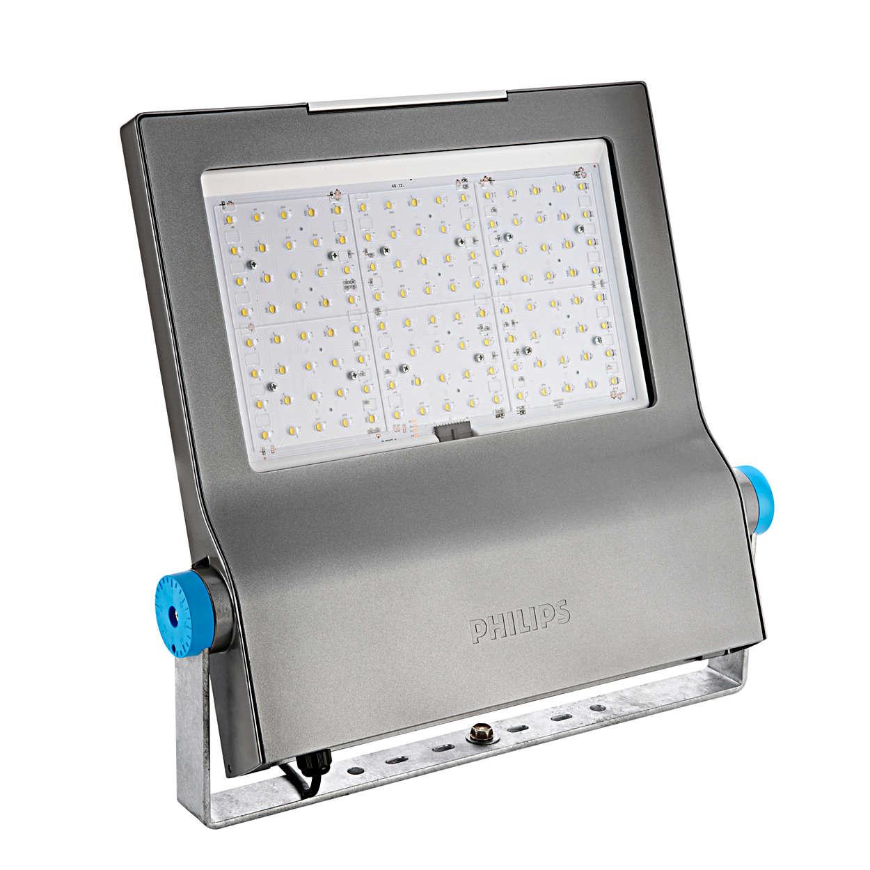 ClearFlood - une solution LED pour l'éclairage des installations sportives et des grands espaces
