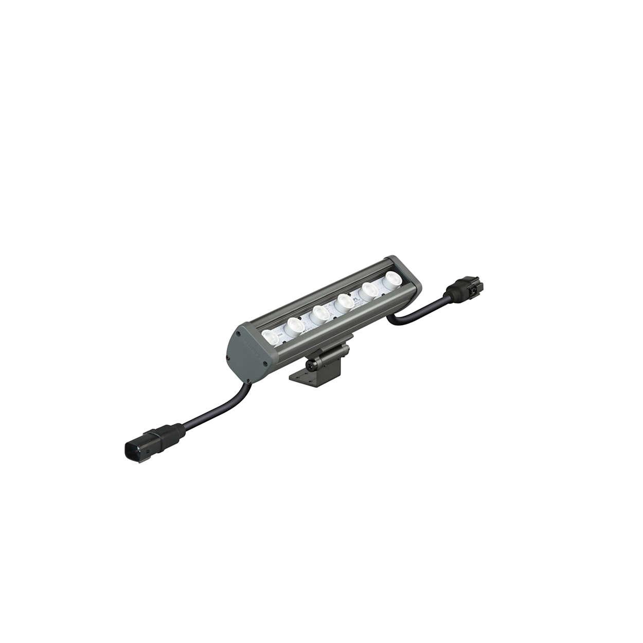 Vaya Linear MP — надежный, экономичный светодиодный линейный прожектор