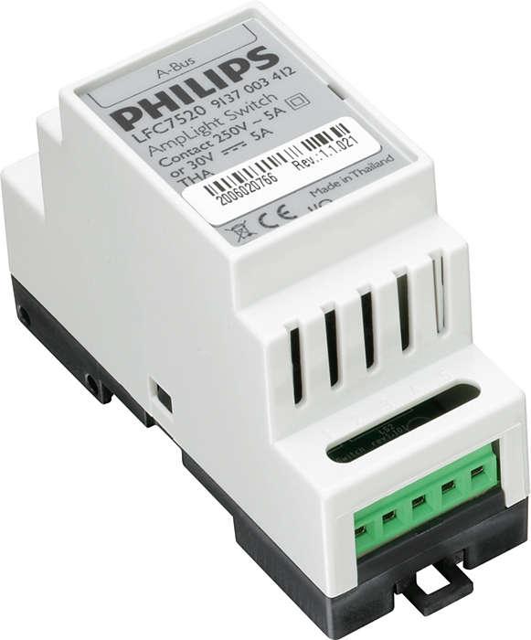 AmpLight – sentralisert kontroll over gatebelysning