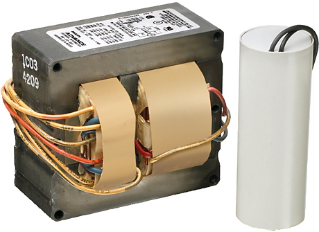CORE & COIL HID HPS BAL 100W S54 480V C&C