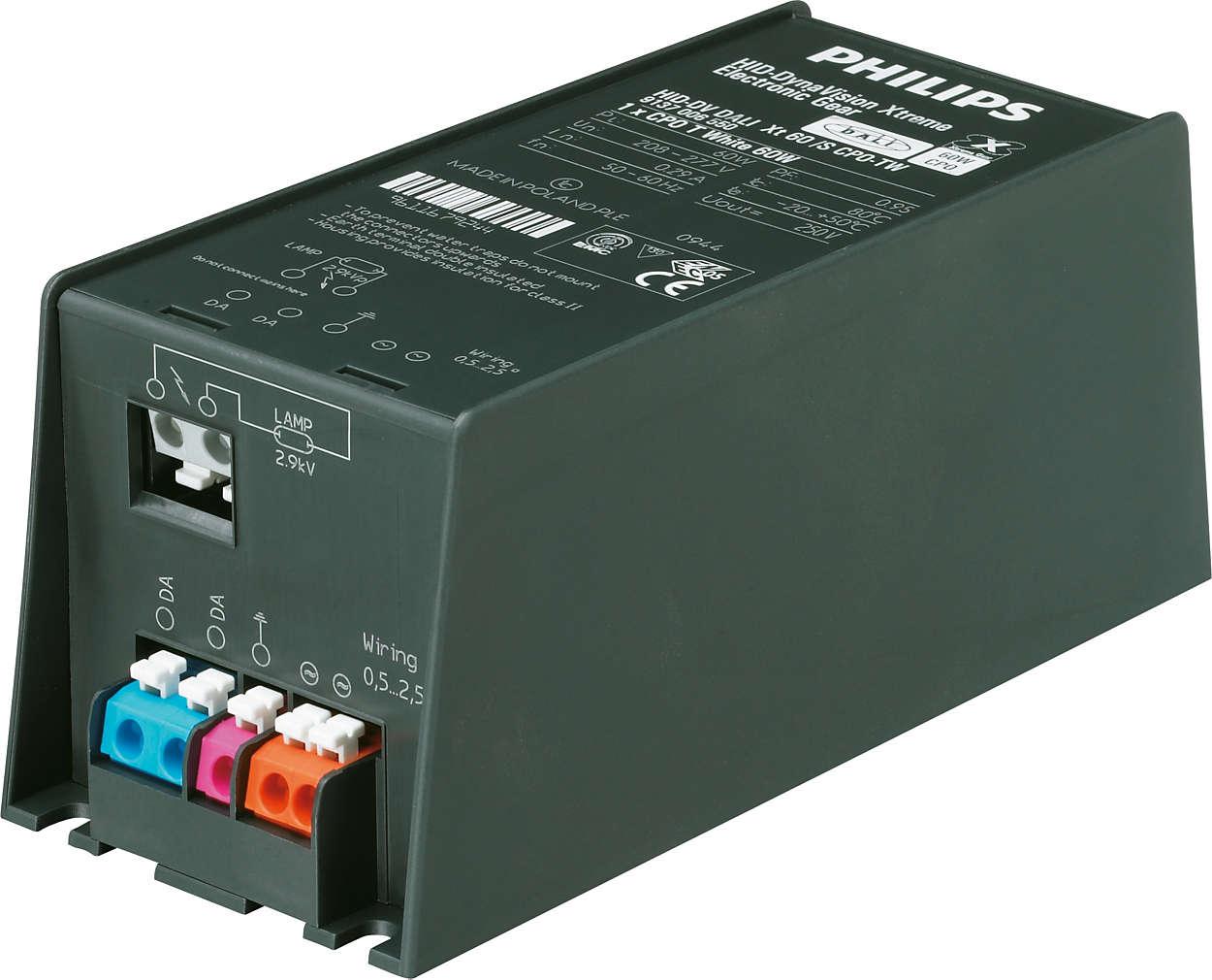 Xtreme-drivere med maksimal energibesparelse