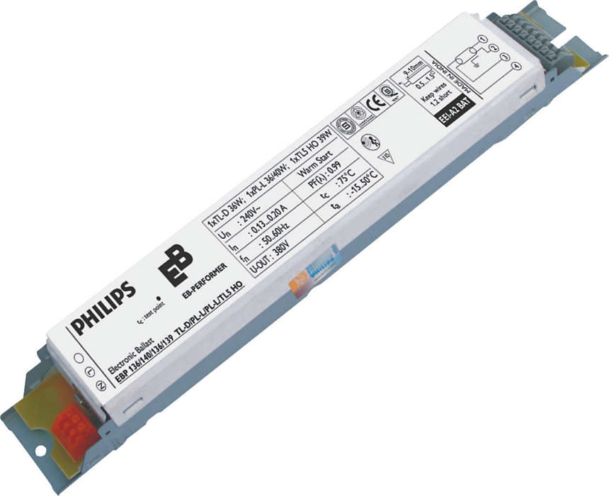 EB-P electronic ballast for TL-D/PL-L/TL5 lamps