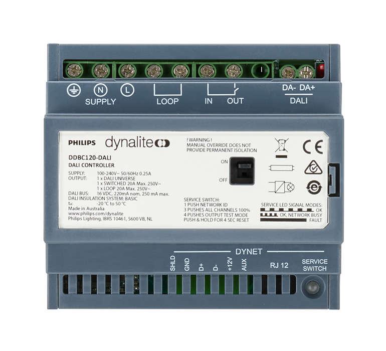 Controladores de regulador de señal Dynalite