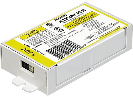 AMBISTAR ELE BALLAST (2) 18W CFL (4-PIN) 120V
