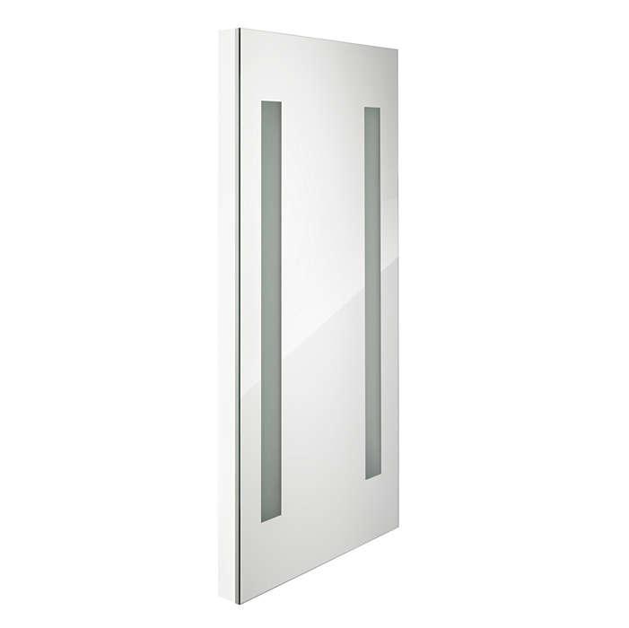 AmbiScene Fashion Mirror Occasions – Miroir pour cabine d'essayage avec un éclairage que les utilisateurs peuvent adapter en fonction de l'ambiance recherchée