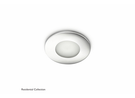Wash recessed chrome 1x35W 230V