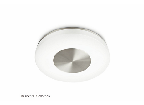 Beach ceiling lamp nickel 1x40W 230V