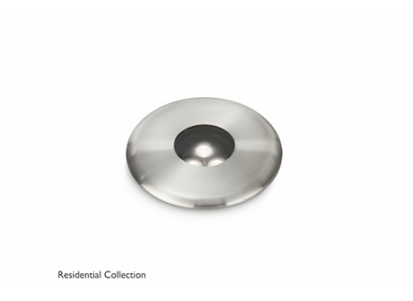 Sole recessed inox 1x6W SELV