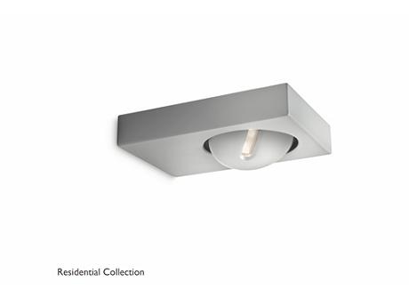 Pheasant wall lantern grey 1x6.5W SELV