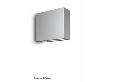 Treeline wall lantern grey 6x2W SELV