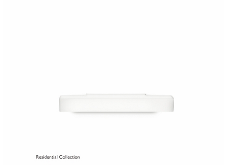 Peace wall lamp white 1x36W 230V