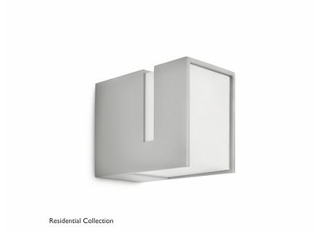 Acres wall lantern grey 1x20W 230V
