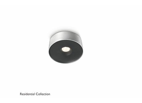 Syon ceiling lamp aluminium 1x6W SELV