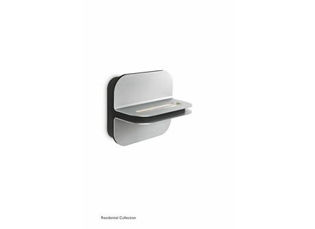 Patra wall lamp aluminium 2x2W SELV