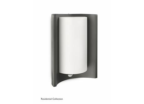 Meander wall lantern anthracite 1x20W