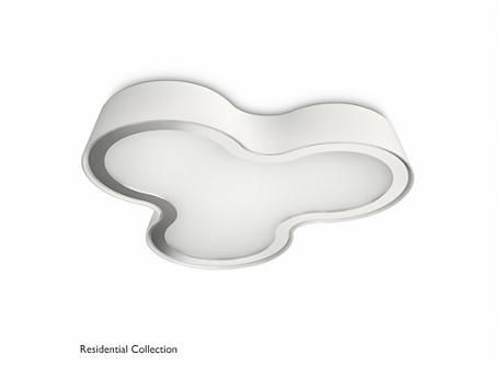 Seru ceiling lamp white 3x4.5W SELV