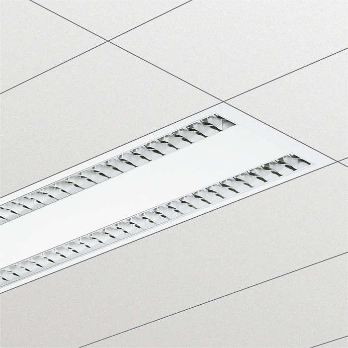 Altíssimo rendimento ótico para maximizar as vantagens das lâmpadas TL-5 em escritórios