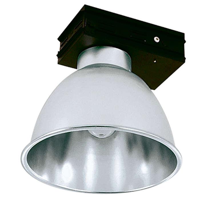 HDK472 / 473 / 474 – Ultra conveniente. Luminária industrial modular