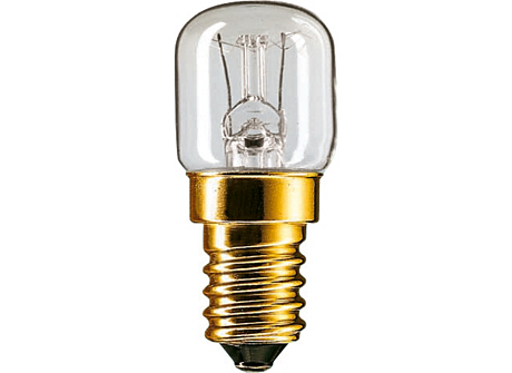 Appliance 15W E14 230-240V T22 CL OV 1CT