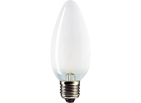 Standard 60W E27 230V B35 FR 1CT/10X10F