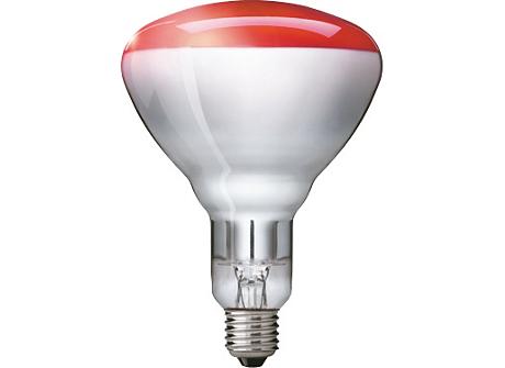 BR125 IR 250W E27 230-250V Red 1CT/10