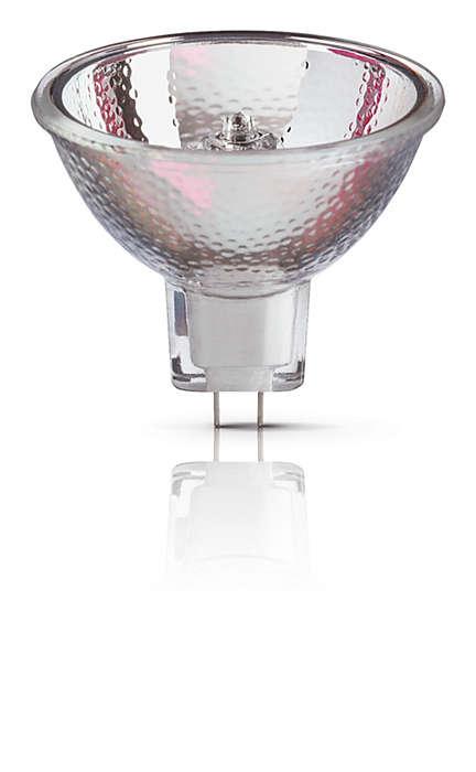 Lâmpadas reflectoras de halogéneo - fiabilidade comprovada