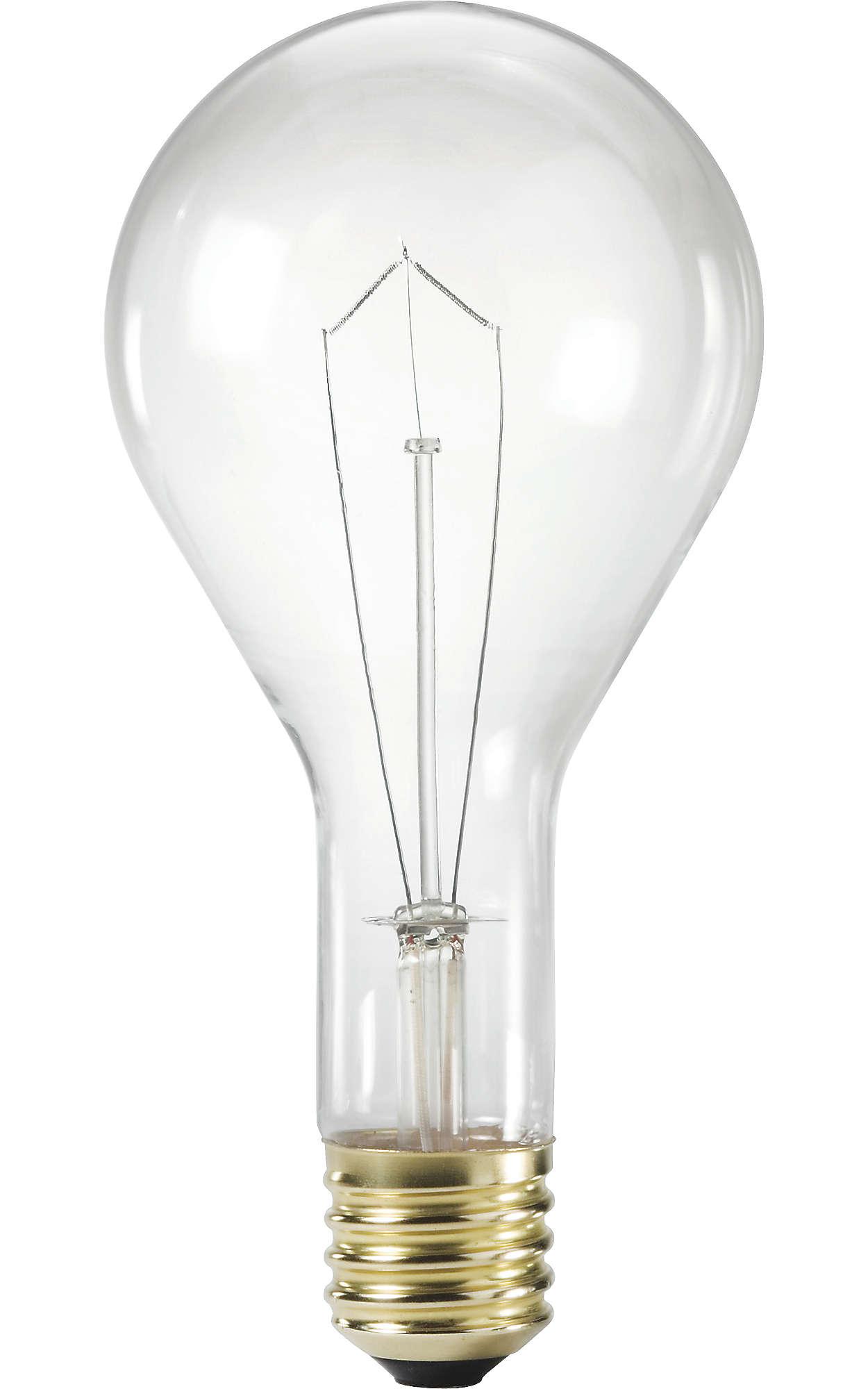 Lampes incandescentes à construction renforcée